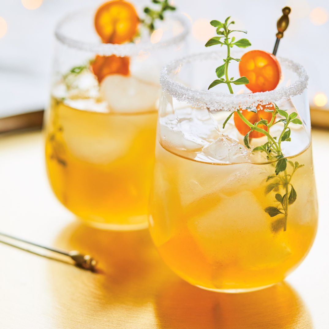 Spiced Rum with Marmalade