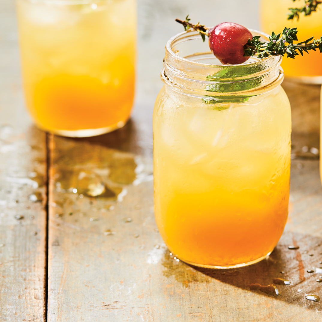 Bourbon Passion Fruit Cocktail