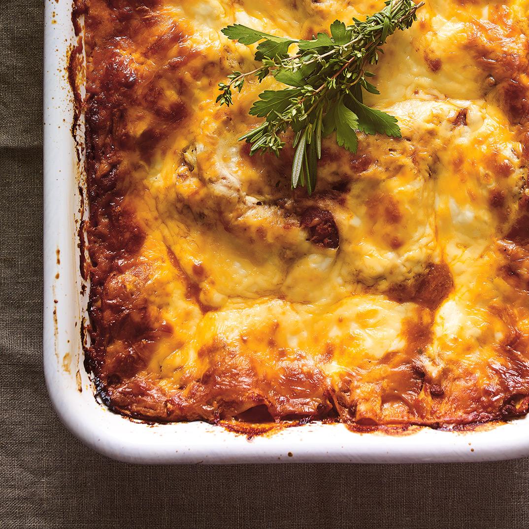 <i>Lasagna Al Ragù</i> and Béchamel