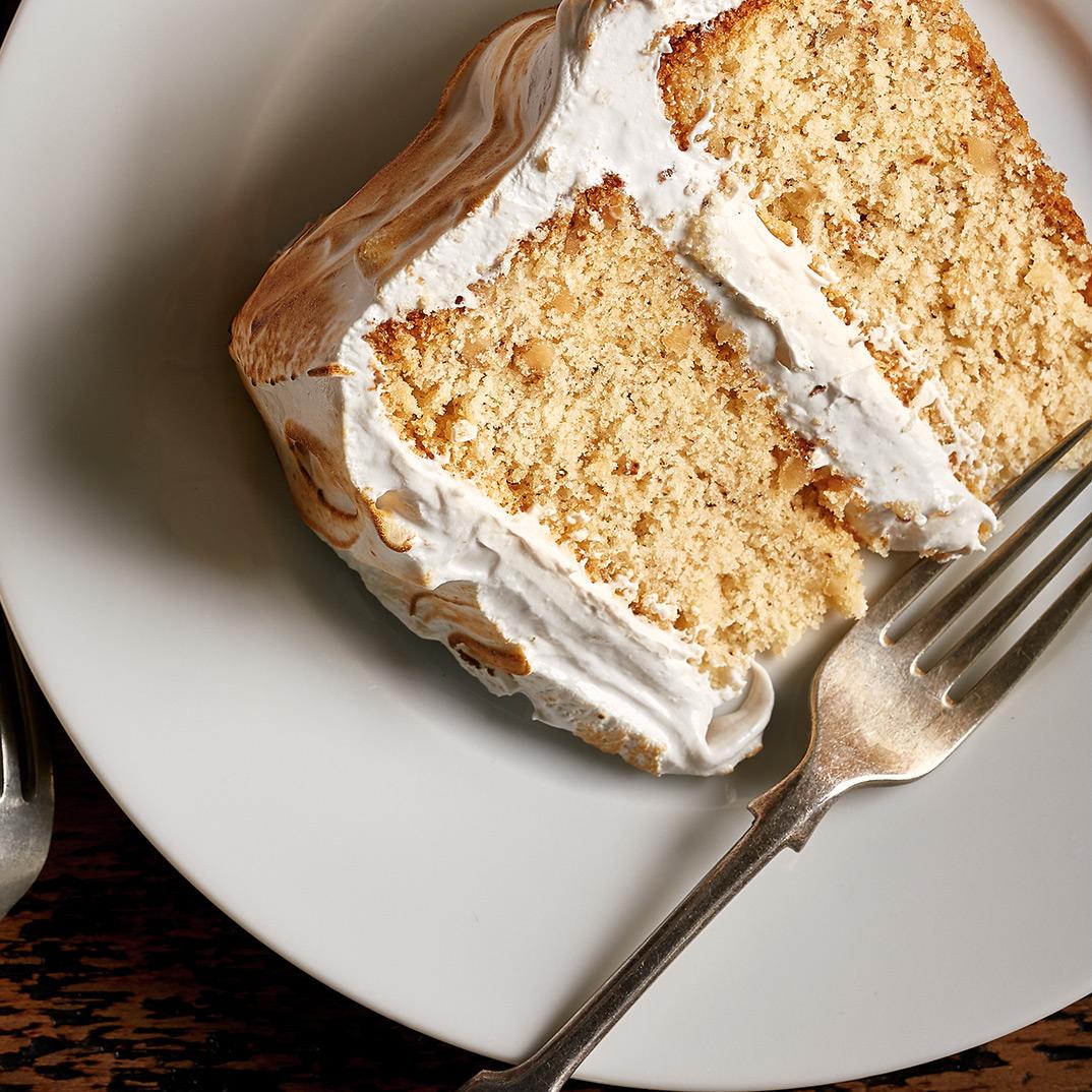 Gâteau aux noix et à l'érable