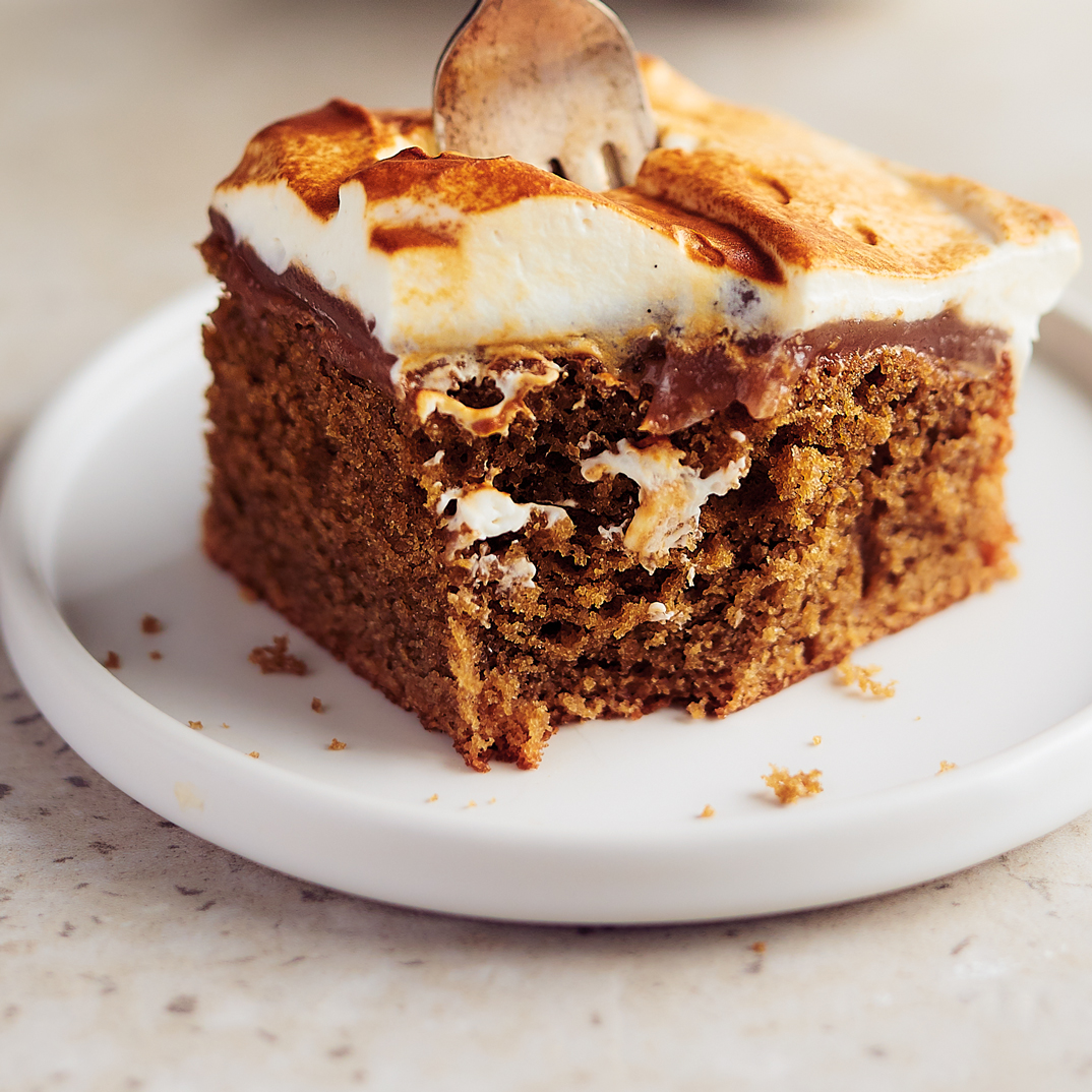 Gâteau au café et aux marrons