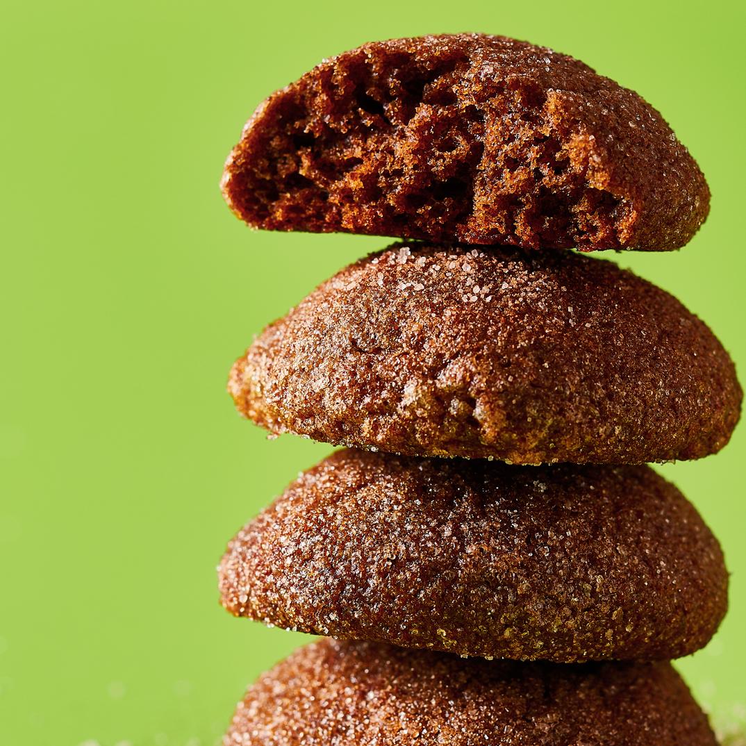 Biscuits à la cannelle <i>snickerdoodles</i> végétaliens