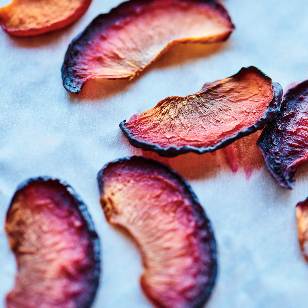 Oven-Dried Plums