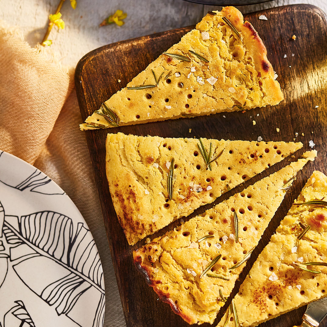 Gluten-Free Anise <i>Socca</i> (Chickpea Flour Flatbread)