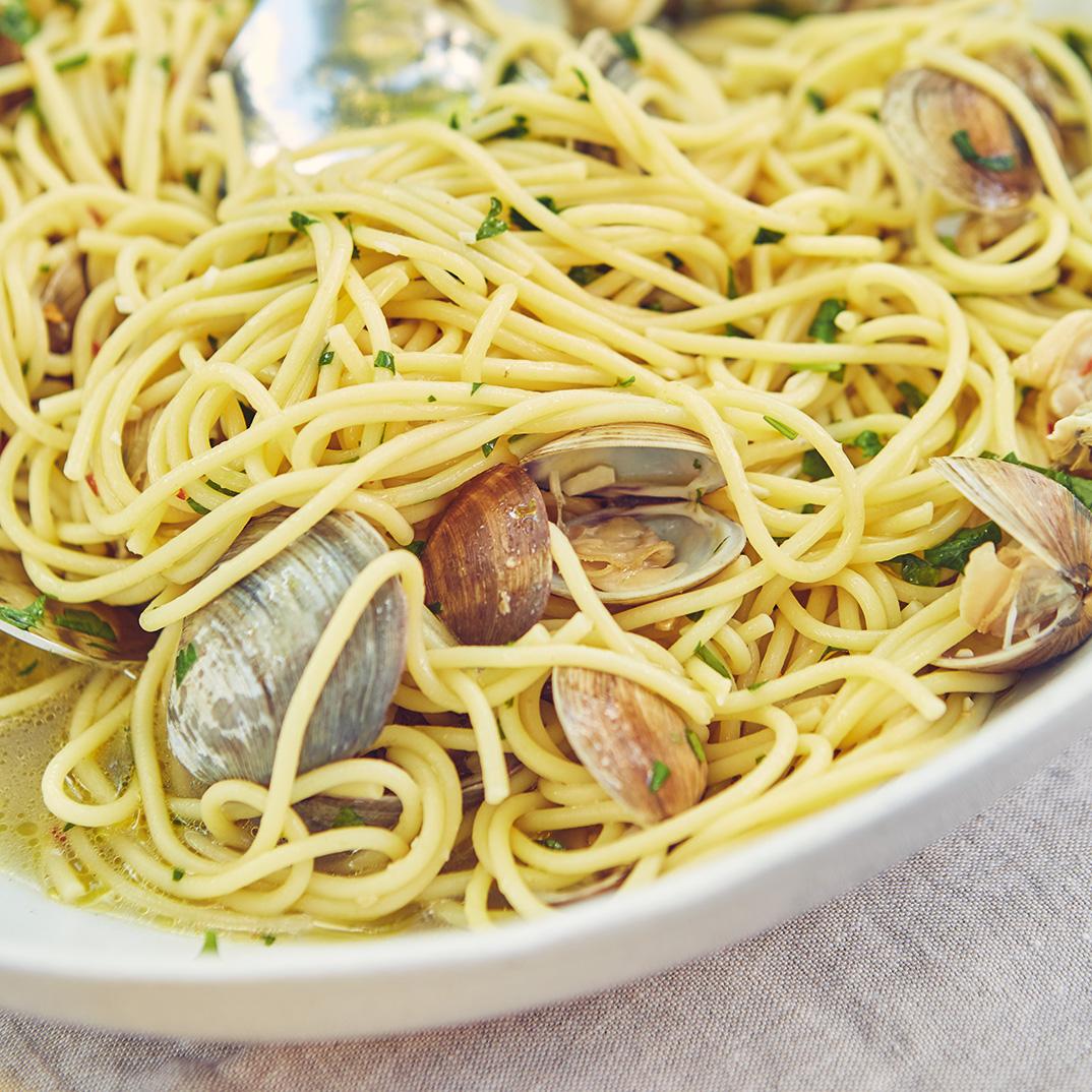 <i>Spaghetti Alle Vongole</i>