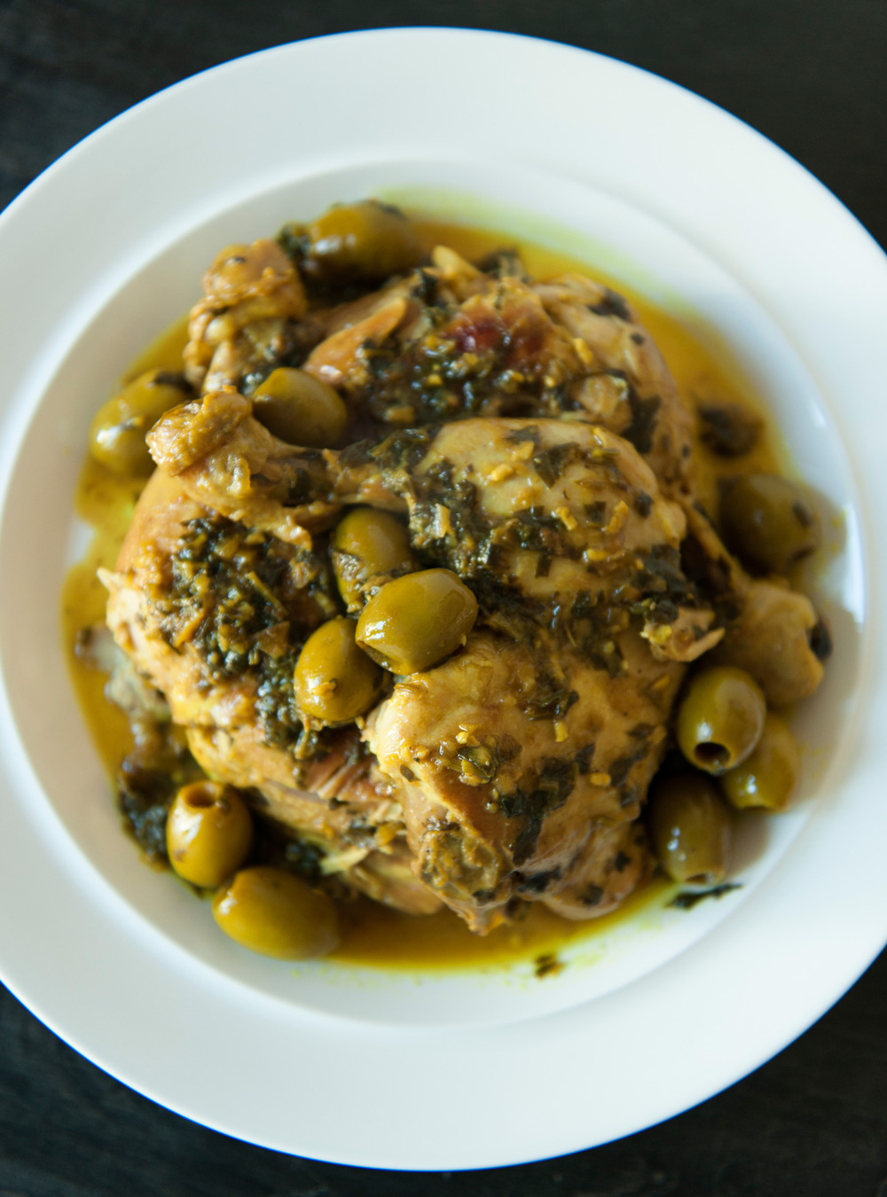 Poulet aux olives de dani le henkel ricardo for Article de cuisine ricardo