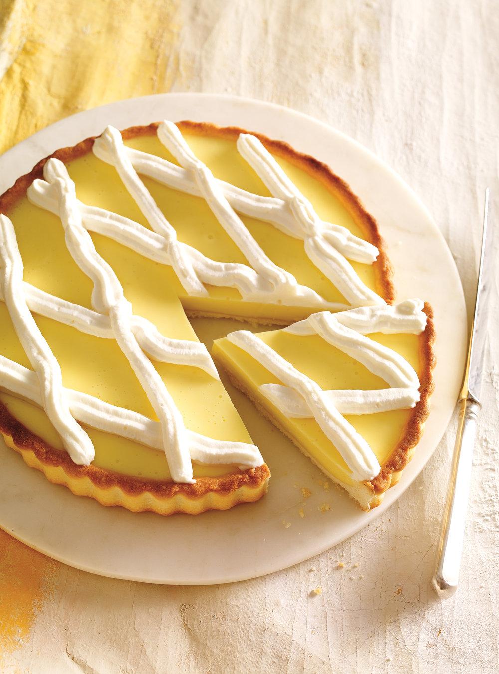 Eggless lemon pie ricardo - Herve cuisine tarte citron ...