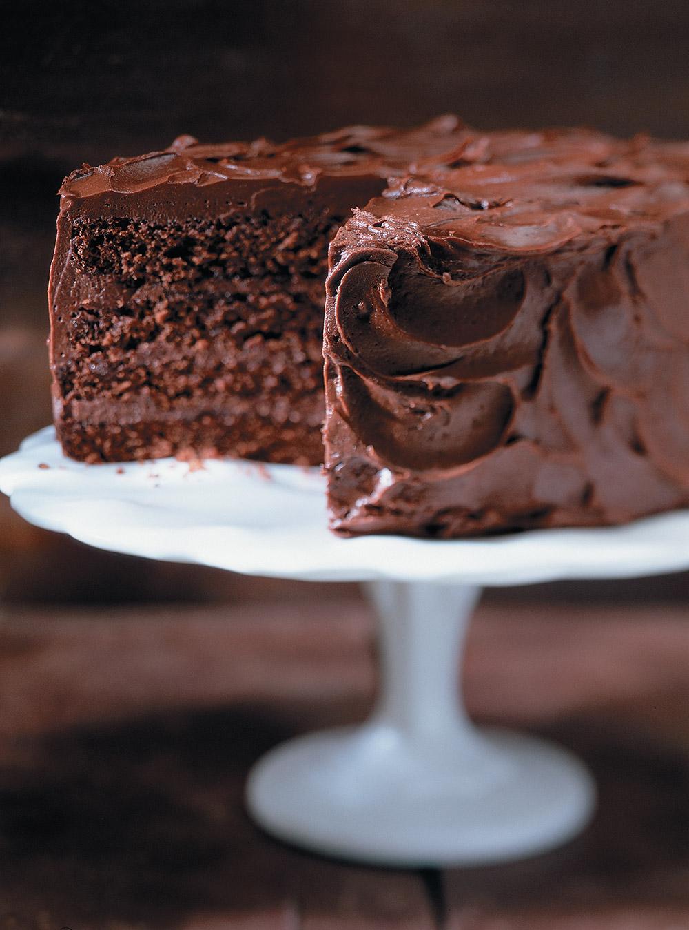 Butter Chocolate Cake Recipe Ricardo