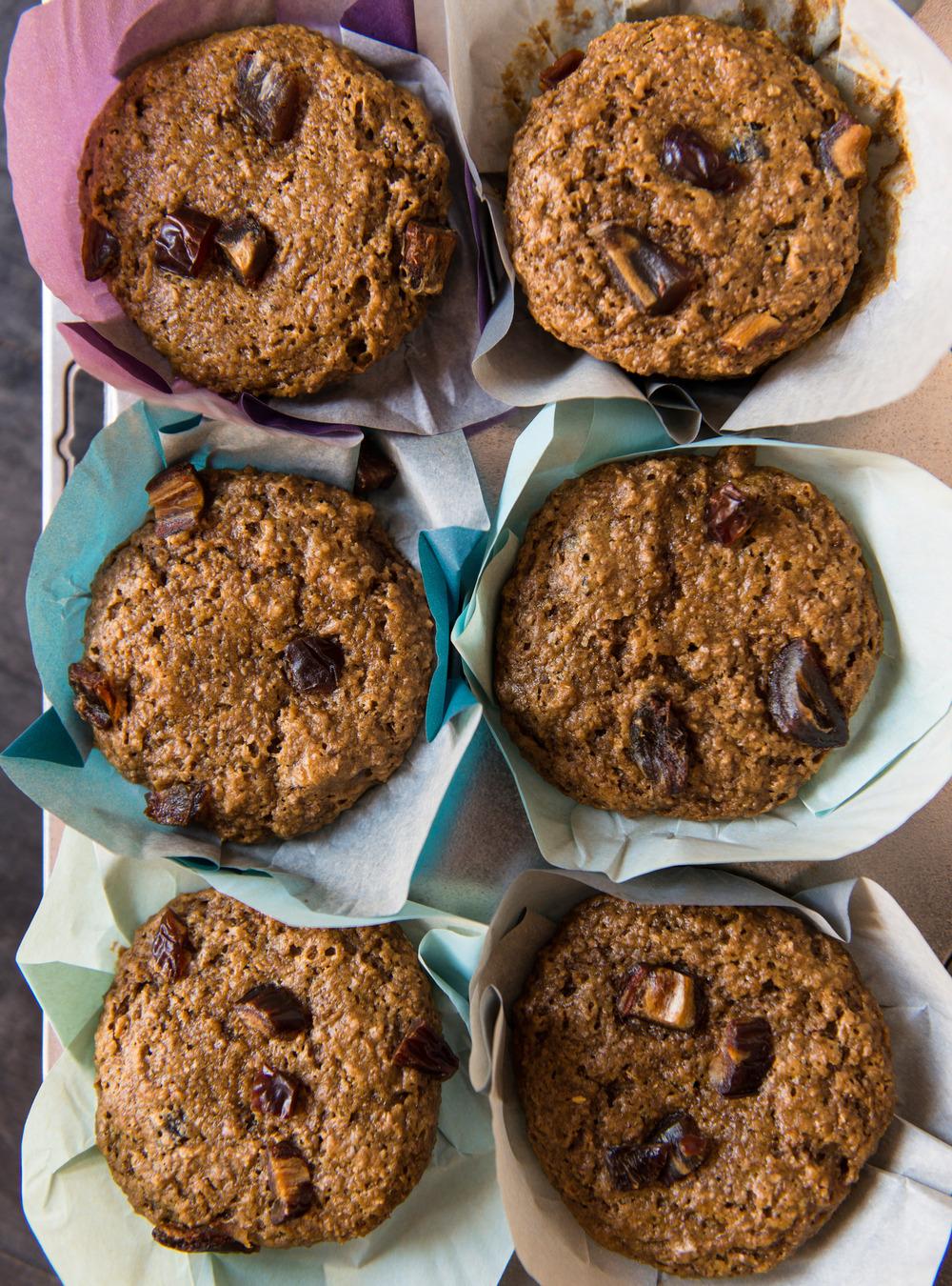 Muffins au son et aux dattes ricardo for Article de cuisine ricardo