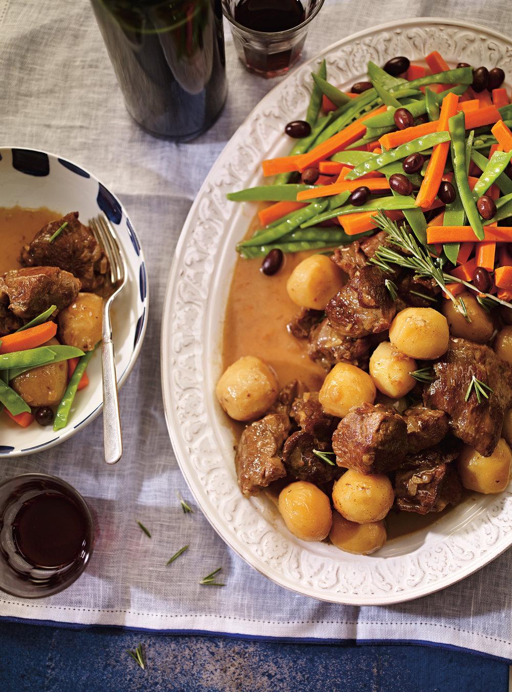 Agneau ou chevreau l touff e comme au portugal ricardo - Acheter cuisine au portugal ...