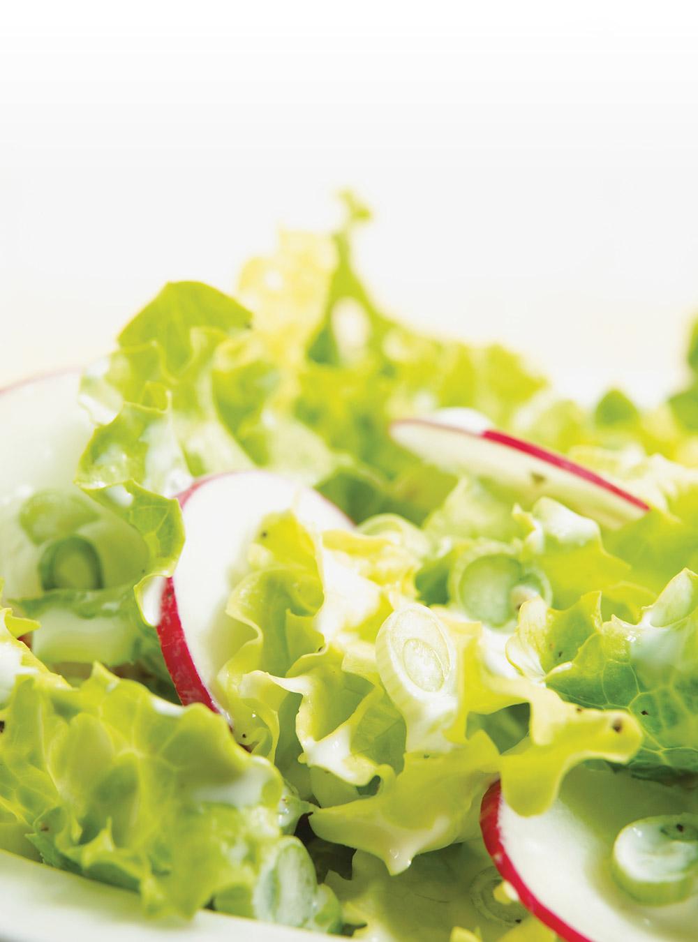 Salade verte la cr me ricardo - Salade verte composee ...