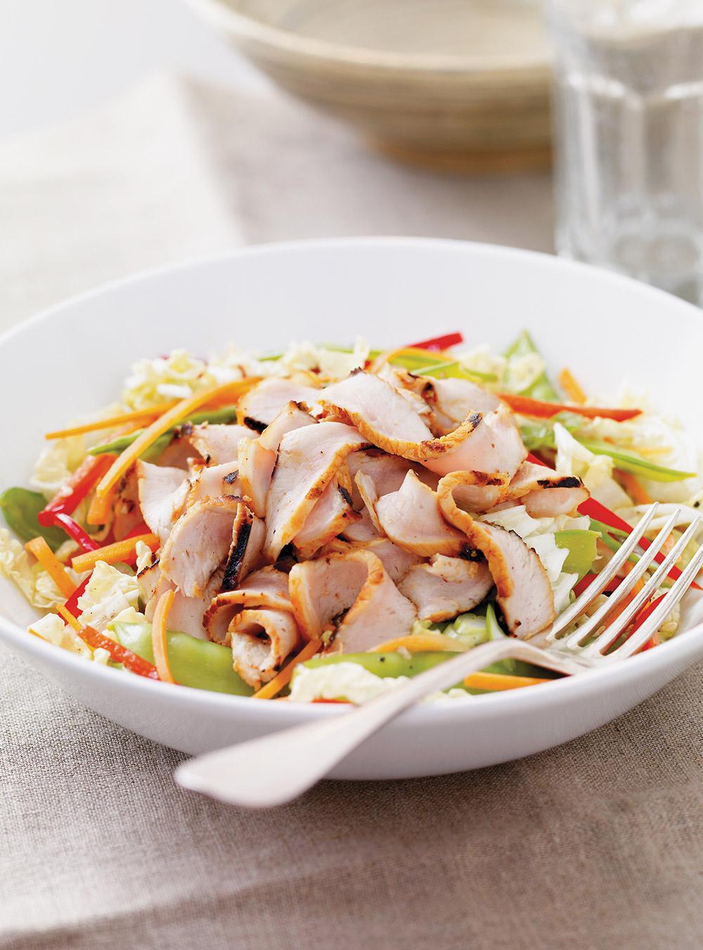 Recette salade de chou nappa au porc grill glouton for Ricardo cuisine