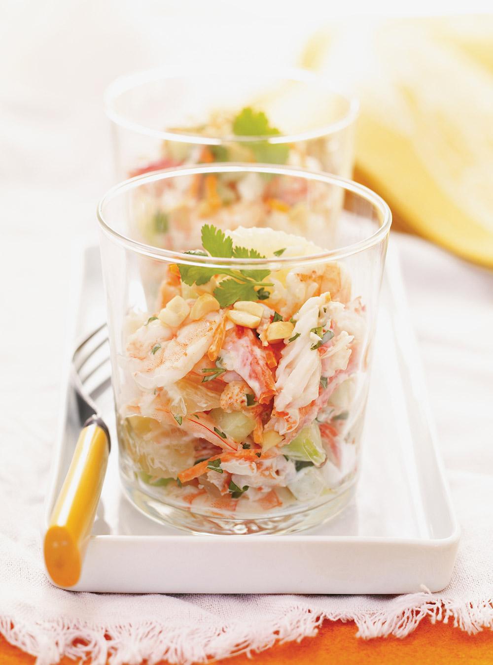 Salade de pom lo et de crabe pic ricardo for Articles de cuisine ricardo