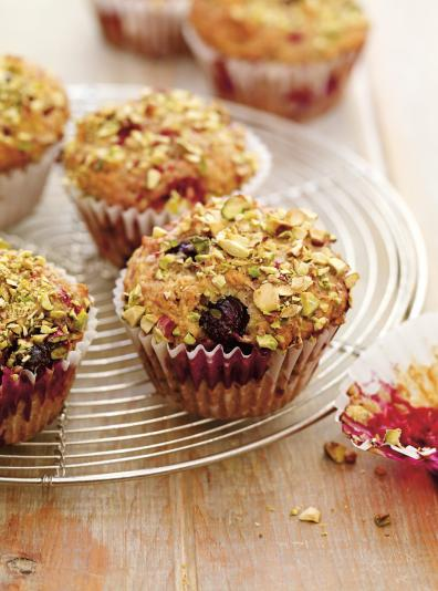 Muffins aux petits fruits et aux pistaches ricardo ricardo - Ricardo cuisine concours ...