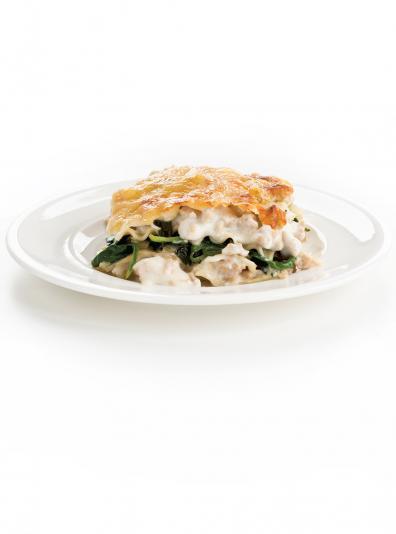 Photo Lasagne au poulet réconfortante