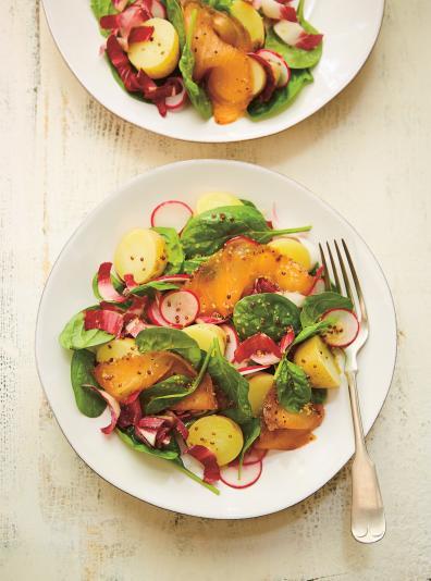 Salade d endives au saumon fum et vinaigrette au miel - Ricardo cuisine concours ...