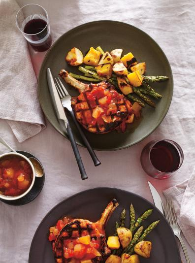 C telettes de porc au ketchup aux fruits ricardo ricardo - Ricardo cuisine concours ...
