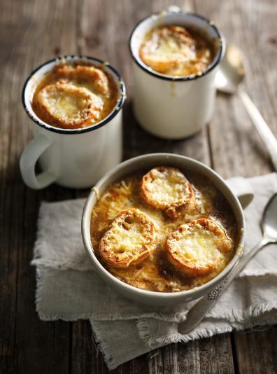 Photo Soupe à l'oignon (la meilleure)