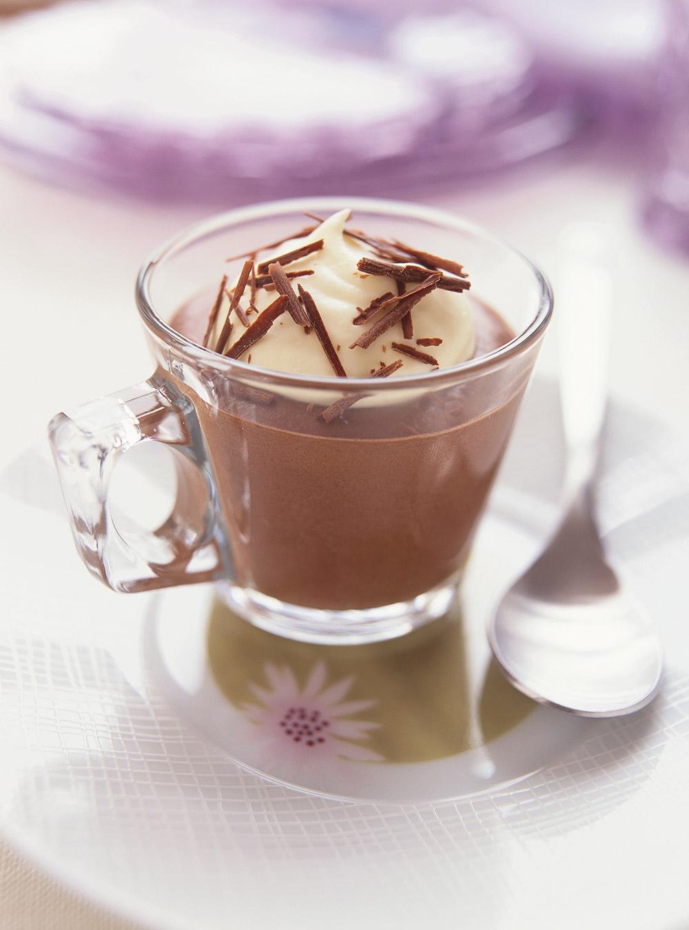 Tasse De Chocolat Mousse Ricardo