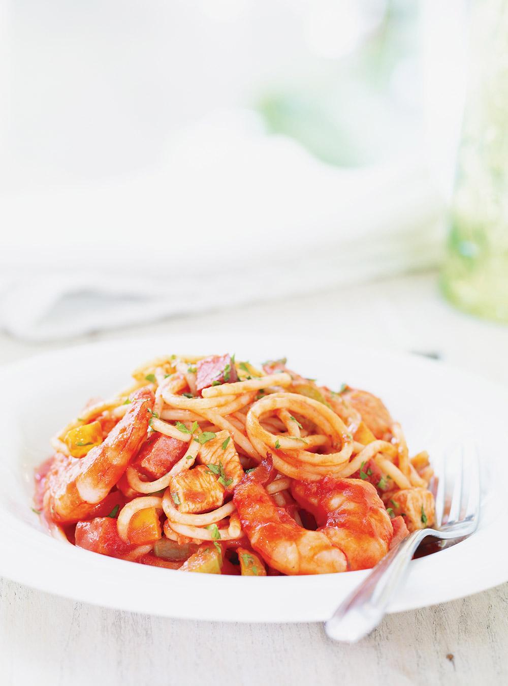 Spaghetti Jambalaya   Ricardo