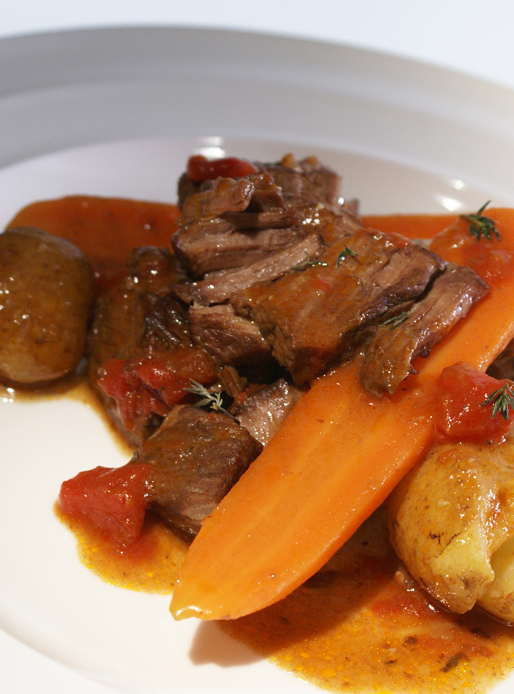 Slow Cooked Beef With Red Wine Ricardo
