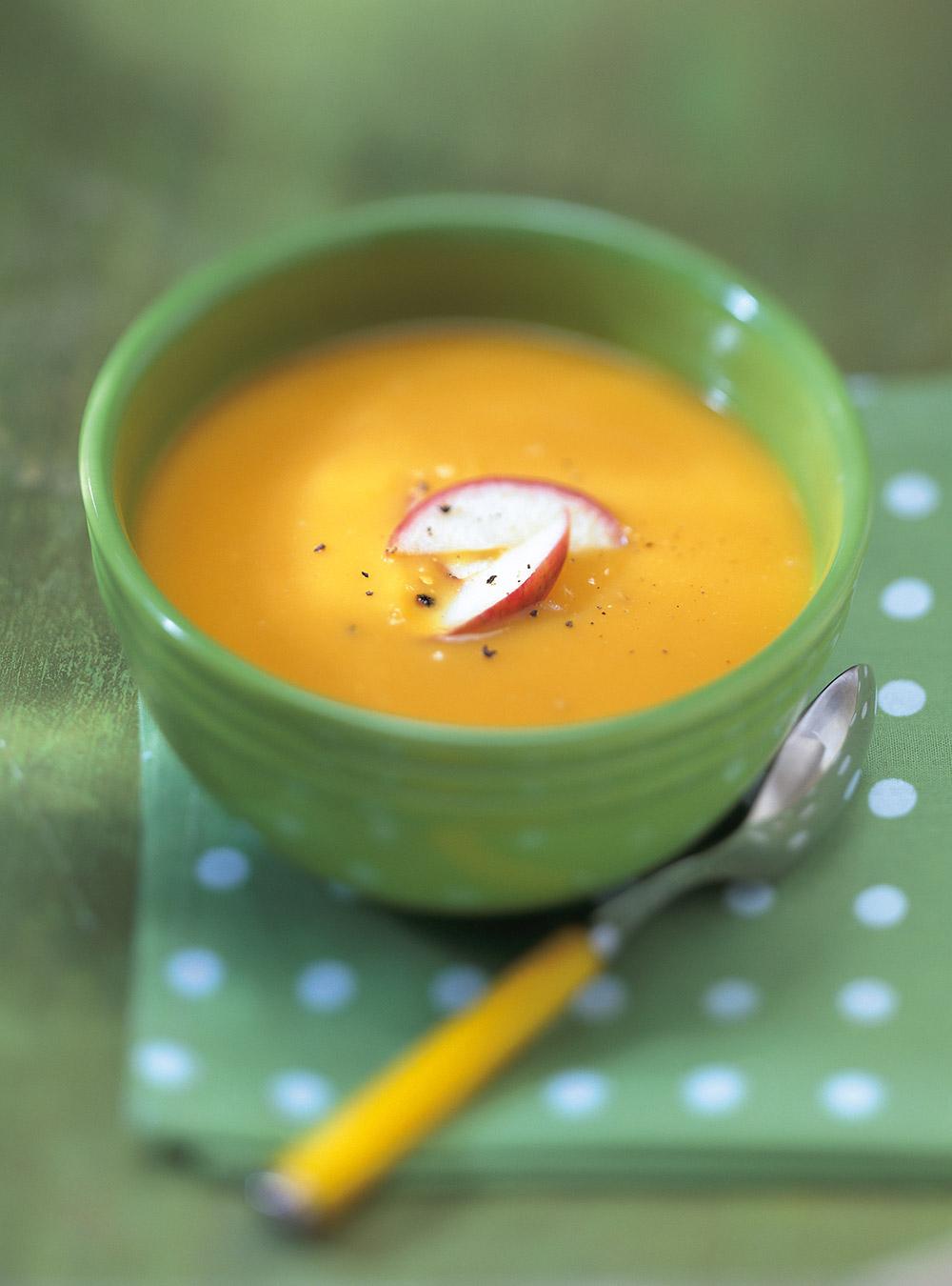 Cream Of Sweet Potato Apple And Clove Soup Ricardo