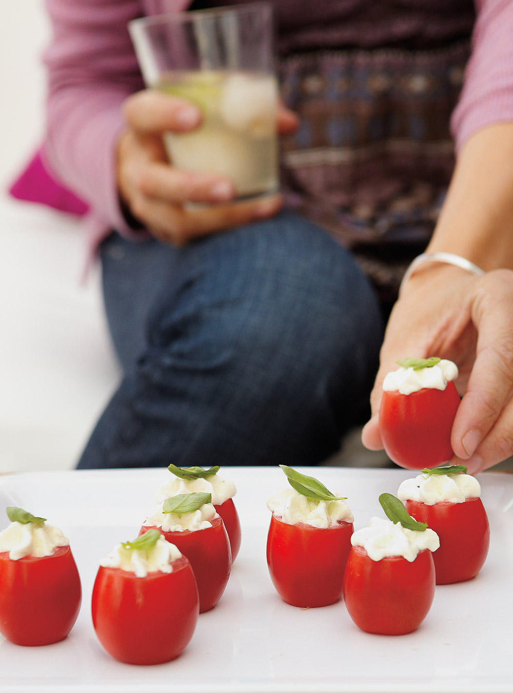 Tomates Farcies Au Mascarpone Ricardo