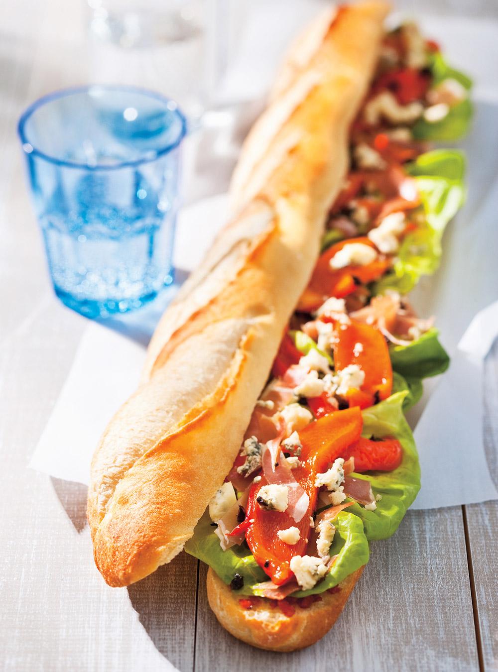 Sandwich rassembleu ricardo - Recette sandwich froid baguette ...