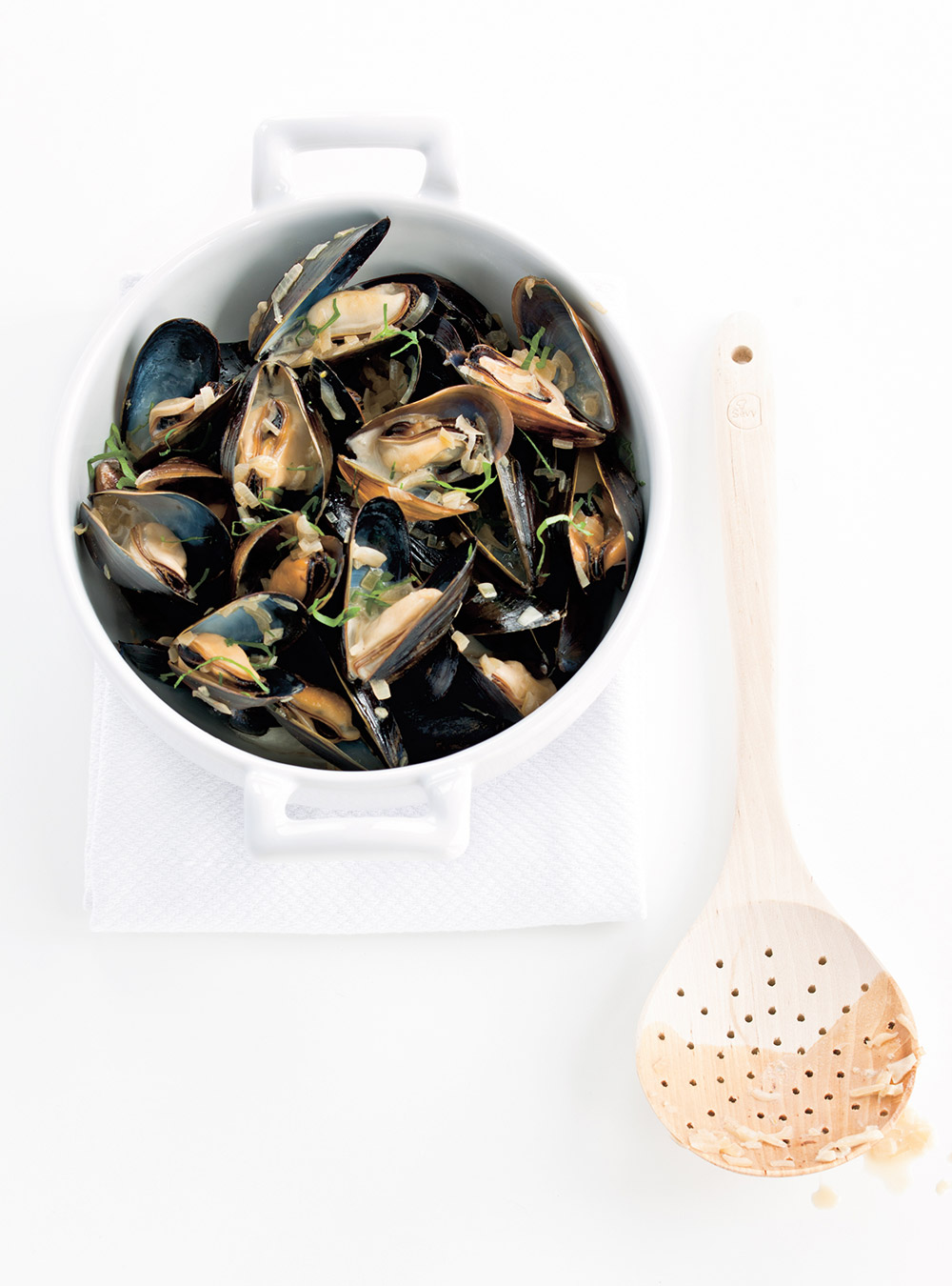 Beer Steamed Mussels | Ricardo