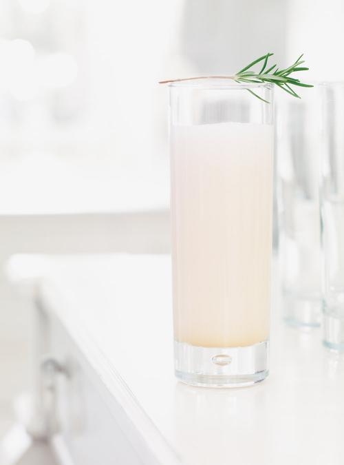 White Rum and Grapefruit Cocktail