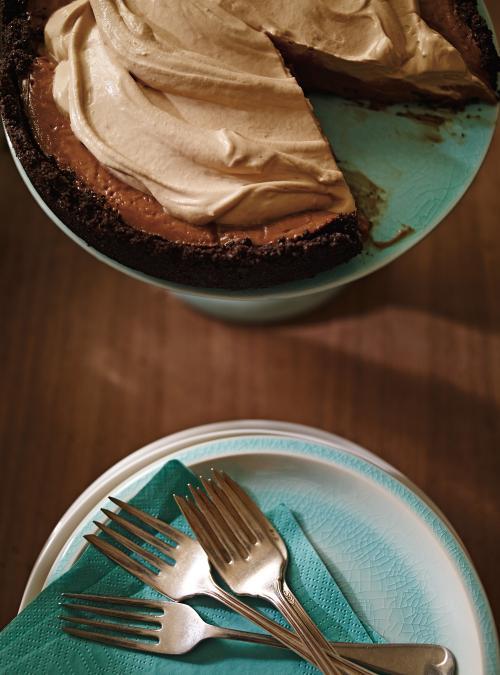 Tarte au chocolat double espresso