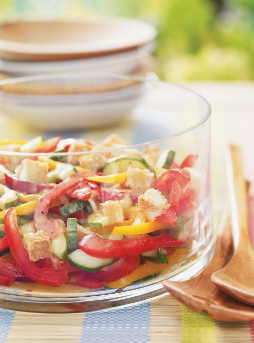 Salade gaspacho