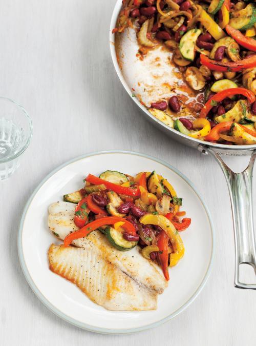 Seared tilapia and vegetable stir fry ricardo for Cuisine ricardo
