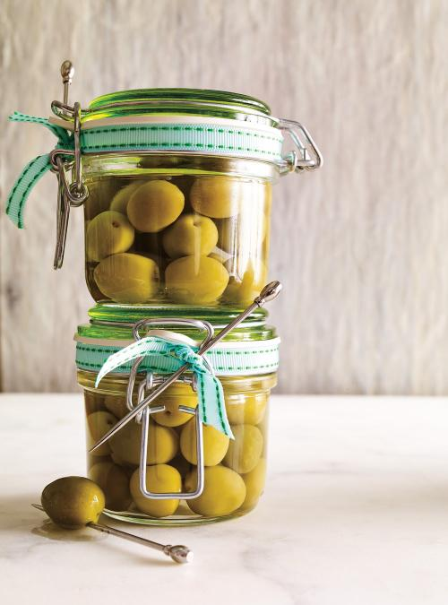 Olives martini