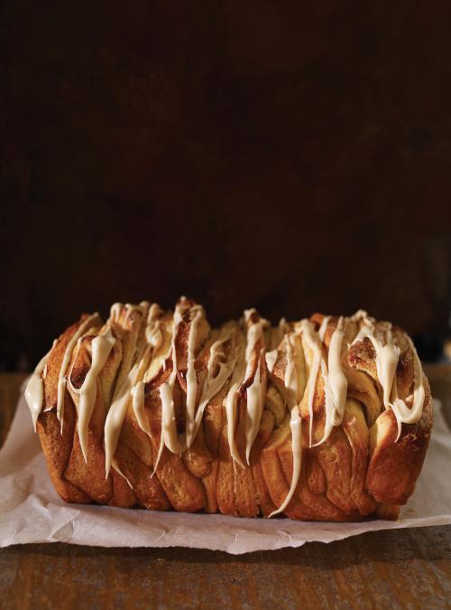 Maple Pull-Apart Bread