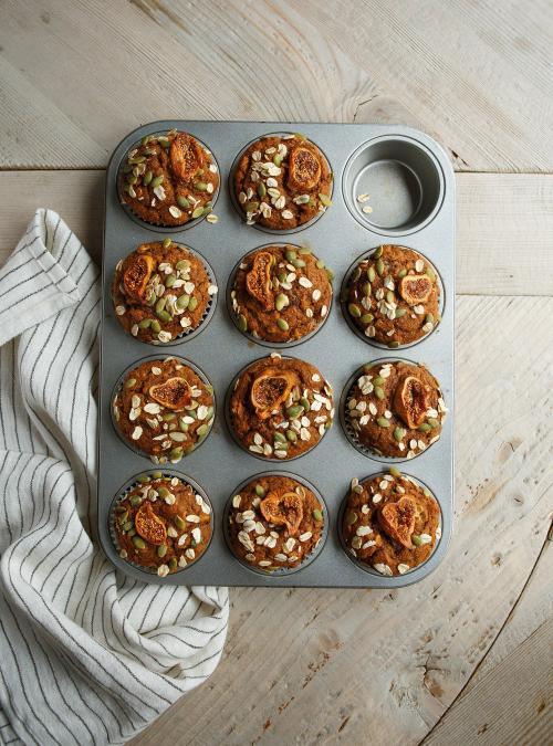 Sweet Potato Breakfast Muffins