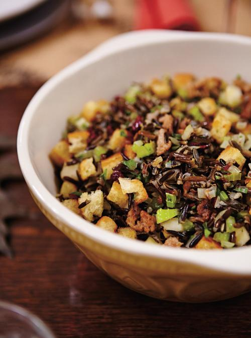 wild rice apple and cranberry stove top stuffing ricardo