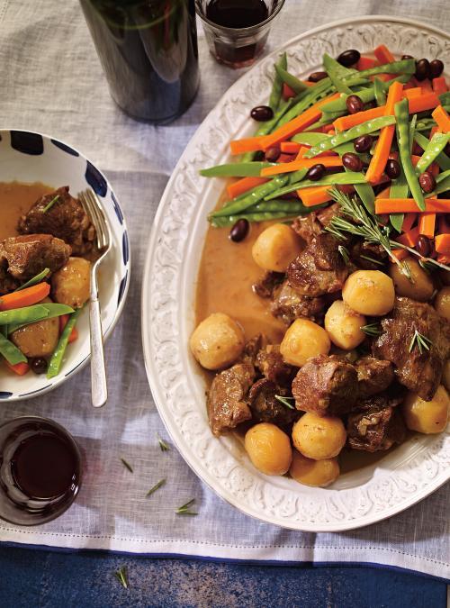 Portuguese-Style Lamb Stew