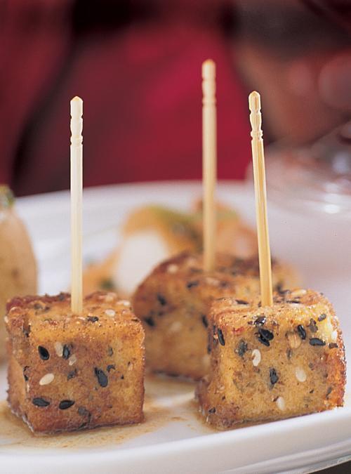 asian style fried tofu