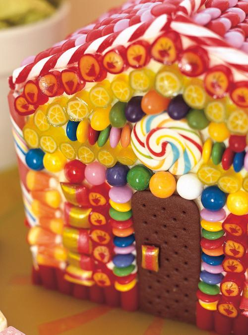 Hansel And Gretel Candy House Cake