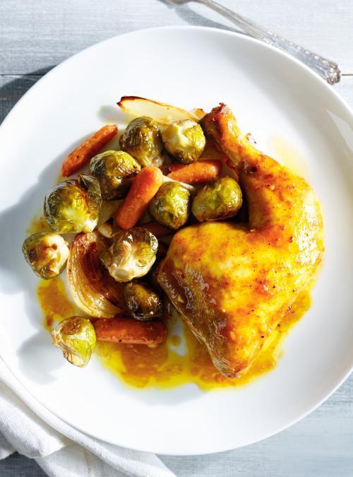 Cuisses de poulet moutarde et miel ricardo - Cuisiner cuisse de poulet ...