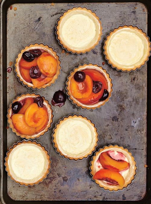 Tartelettes de fruits au barbecue