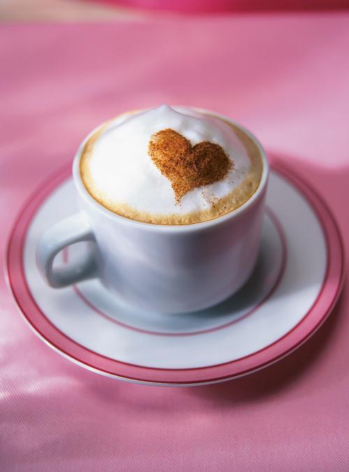 Cinnamon Heart Cappuccino