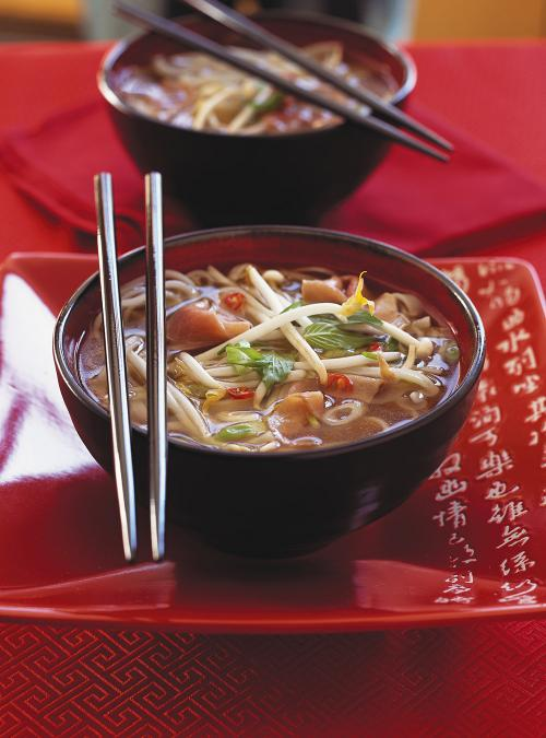 Pho Soup (Beef and Noodle Soup)