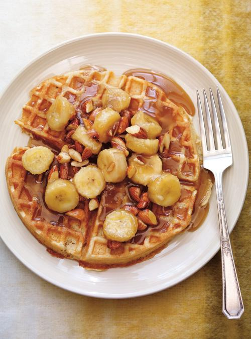 Oat and Almond Waffles