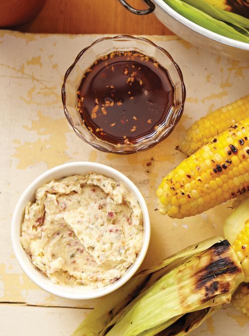 Huile au piment fort pour maïs