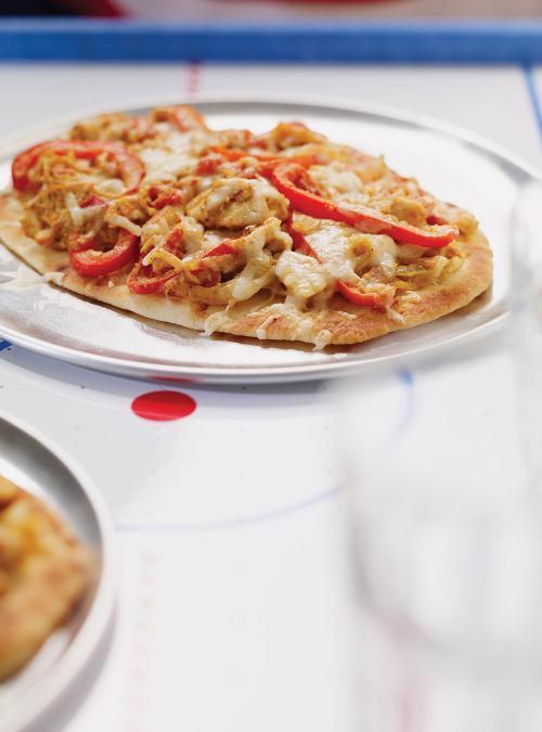 Naan pizza ricardo for Cuisine ricardo