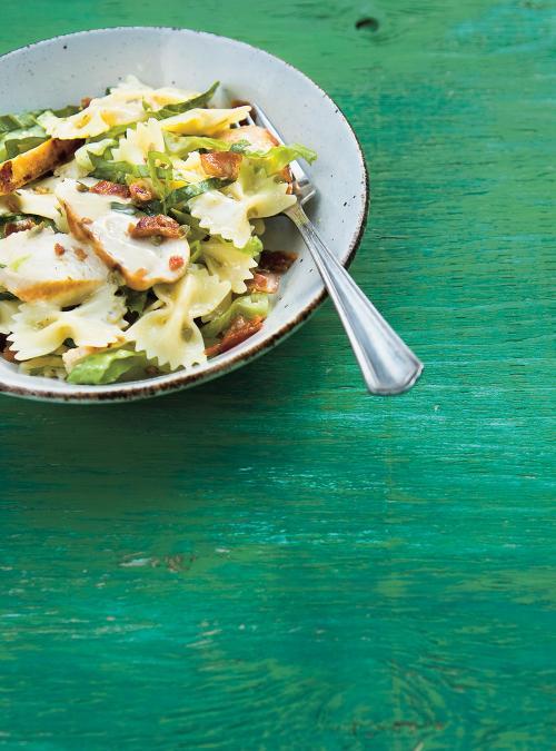salade de p 226 tes au poulet 224 la c 233 sar ricardo