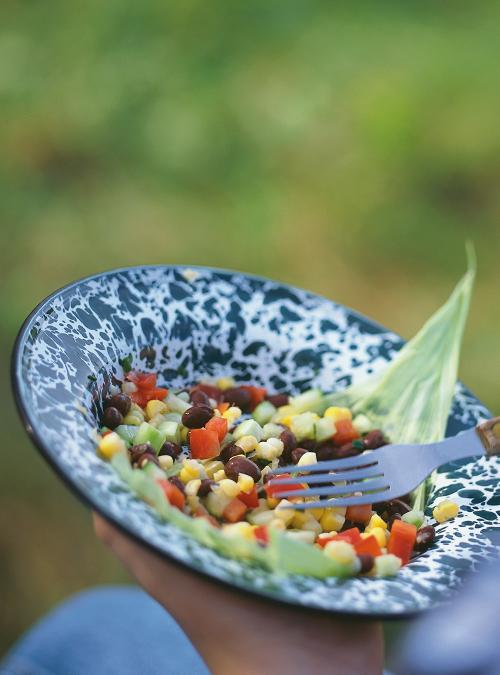 Salade De Mais Et De Haricots Noirs Ricardo
