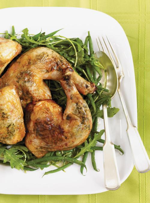 Cuisses de poulet aux herbes ricardo - Cuisse de poulet calories ...